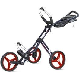 Sun Mountain 2017Speed Warenkorb GT 3-Rad Push Golf Trolley, Herren, Marineblau / Weiß / Rot -