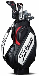 Titleist Mid Staff Bag Golftasche, unisex erwachsene, Schwarz, Einheitsgröße -