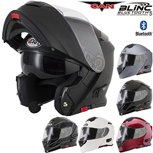 v271 blinc vcan motorrad klapphelm mit bluetooth funktion. Black Bedroom Furniture Sets. Home Design Ideas