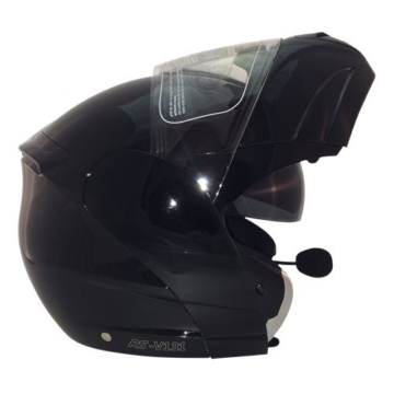 Viper rs-v131Plus Bluetooth Motorrad Bike Flip Up/Front Modular Rider Helm & Sturmhaube -