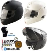 Viper rs-v131 Plus Bluetooth Motorrad Bike Flip Up/Front Modular Rider Helm & Sturmhaube -