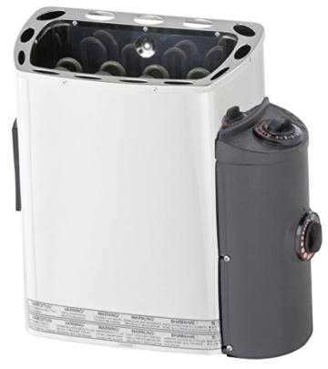 well solutions saunaofen 3 6kw 230v sauna ofen mit seitliche steuerung links oder rechts u. Black Bedroom Furniture Sets. Home Design Ideas