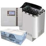 Well Solutions® Saunaofen Nordex Next 9 kW mit Sauna Steuerung EOS ECON D2 mit Zeitvorwahl Marke Well Solutions® -