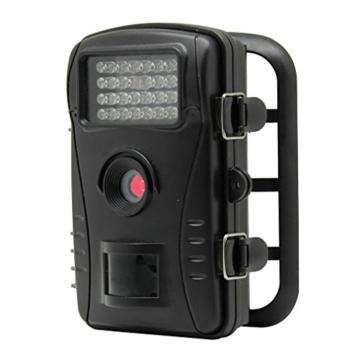 "Wildkamera LESHP Jagdkamera 70 Grad Weitwinkel Nachtsicht Funktion 2.4"" LCD Bildschirm 26 Pics IR Leds 720P Wasserfest PIR HD Hunting Trail Video Wild Überwachungskamera -"