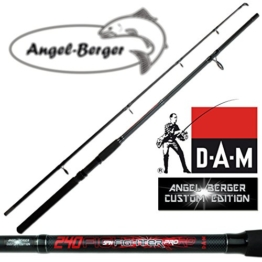 DAM Spinnrute Steckrute Angel Berger Custom Edition in verschiedenen Längen (1.80m) -
