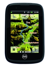 Falk Uni Tiger Blu Bluetooth Outdoor Navigationsgerät, Schwarz, M -
