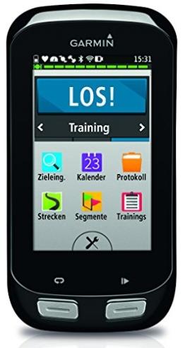 Garmin Edge 1000 GPS-Radcomputer - 7,6 cm (3'') Touchscreen, Europa-Fahrradkarte, RoundTrip Routing -