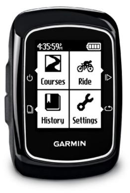 Garmin Edge 200 GPS Fahrradcomputer (hochempfindliches GPS, Tracknavigation, Tourenaufzeichnung) -