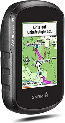 Garmin eTrex Touch 35 Fahrrad-Outdoor-Navigationsgerät - mit vorinstallierter Garmin TopoActive Karte, Smart Notifications und barometrischem Höhenmesser -
