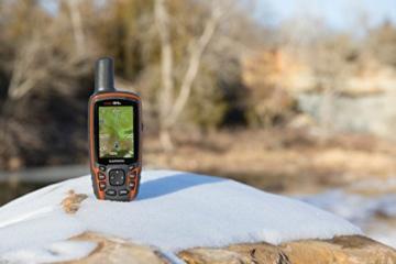 Garmin GPSMAP 64s Navigationshandgerät - 2,6''-Farbdisplay, barometrischer Höhenmesser, Live Tracking -