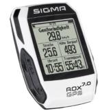 Sigma Uni Rox 7.0 Fahrradcomputer Gps, Wei&AmpSzlig, 73,5mm x 50 mm x 21,5mm -