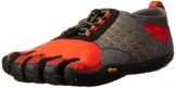 Vibram FiveFingers Herren Trek Ascent Outdoor Fitnessschuhe, Mehrfarbig (Grey/Red/Black), 40 EU -