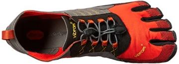 Vibram FiveFingers Herren Trek Ascent Outdoor Fitnessschuhe, Mehrfarbig (Grey/Red/Black), 40 EU -