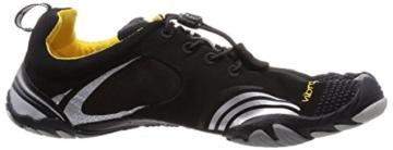 Vibram FiveFingers KMD Sport LS, Herren Hallenschuhe, Mehrfarbig (Black/silver/grey), 45 EU -