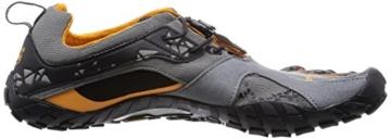 Vibram FiveFingers Spyridon MR, Herren Traillaufschuhe, Mehrfarbig (Grey/orange), 43 EU -